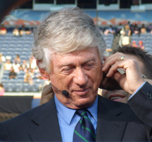 Ted Koppel, the only pundit I could pick up at Wikimedia.
