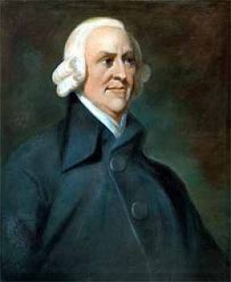 Adam Smith, Friend to Glasgow Tobacco Barons and Author of  The Theory of Moral Semtiments