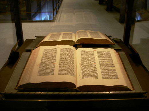 The Bible (Gutenberg version shown here)  has been translated many times. Many Christians refuse to use the Authorised Version not because the translation is outdated but because it was commisioned by a gay king.