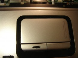 Touch pad before replacement,