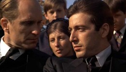 Michael Corleone and his loyal family lawyer Tom.