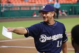Robin Yount was the AL MVP in 1982 while playing for the Milwaukee Brewers