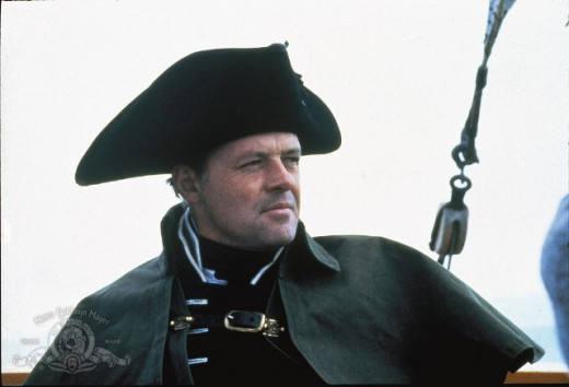 Anthony Hopkins as Captian Bligh