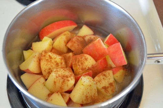 Cook time for applesauce is virtually minutes so keep a close eye on how quickly they become soft enough to mash slightly.