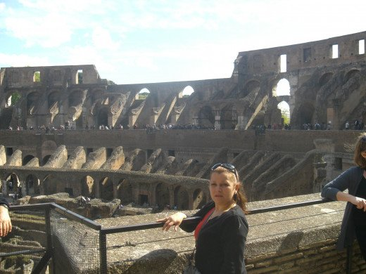me at the Roman Coliseum