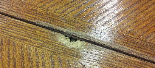 Particle Board does not make good table tops