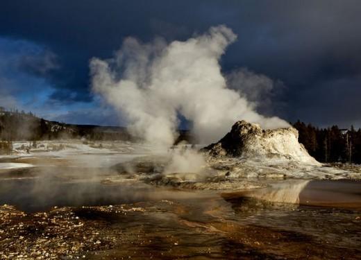 The Yellowstone volcano!