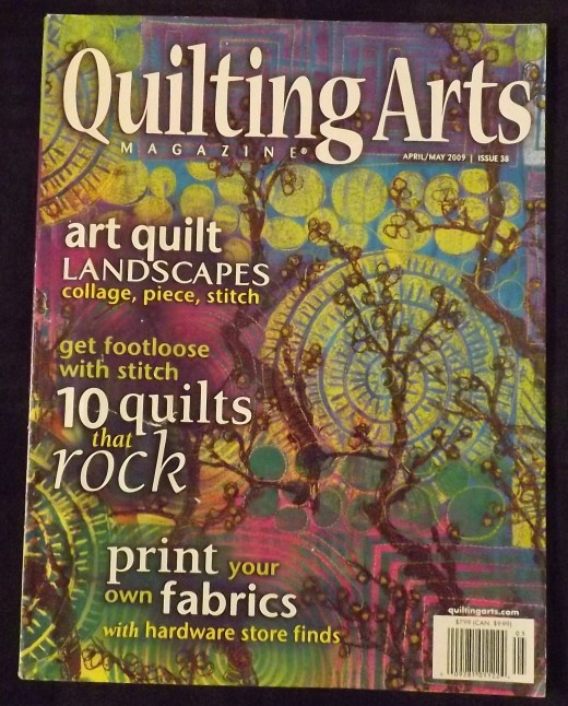 April/May 2009 Quilting Arts Magazine