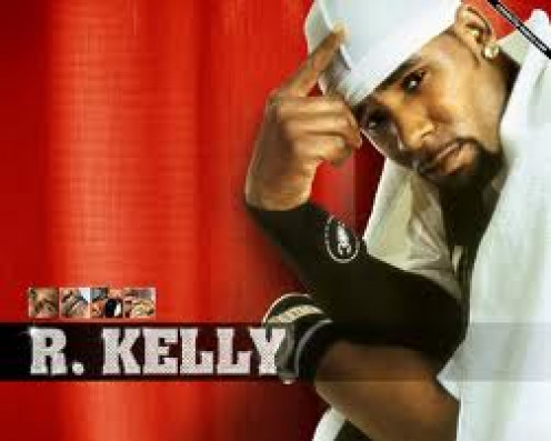 R. Kelley is a very successful r and b singer. His songs with Ron Isley were breathtaking and he has a very clear voice.