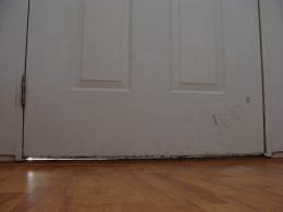 Fig 1.  Gap Under Door