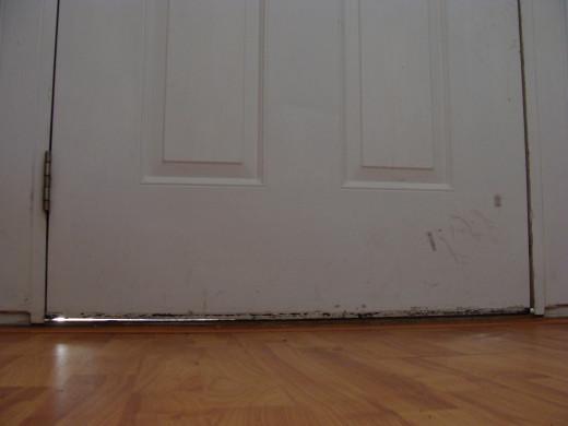 Fig 1.  Gap Under Door
