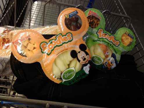 Fun shaped fruit and veggie trays can make trick-or-treating delicious AND healthy!