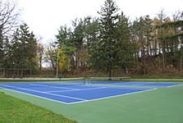 Hardcourt acrylic