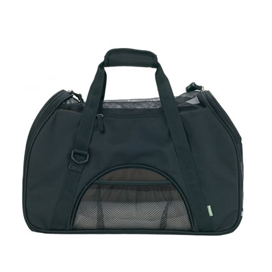 Bergan Comfort Soft-Sided Pet Carrier, Large in Black