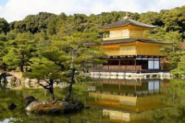Kinkaku-ji or Golden Pavilion