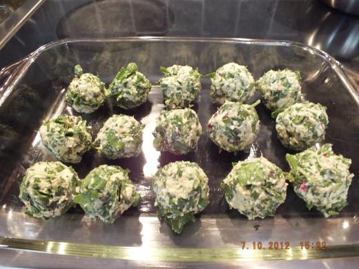 Just like making meatballs!