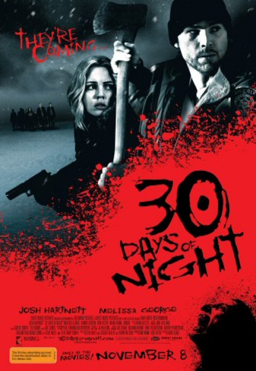 Theatrical poster for 30 Days of Night