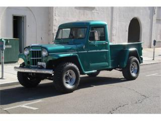 Similar to the Willys jeep truck we drove to Cantrell Creek.