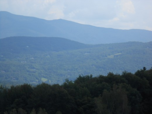 Mountains in Stowe, Vermont