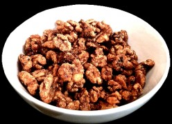 Hot Peppered Candied Walnuts Recipe