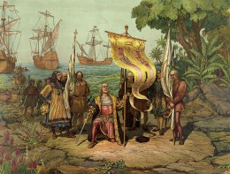 "Christoper Columbus arrives in America, and not ""Columbia""?"