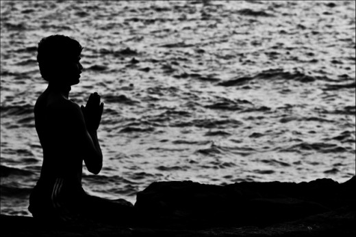 Meditate somewhere quiet where you won't be disturbed