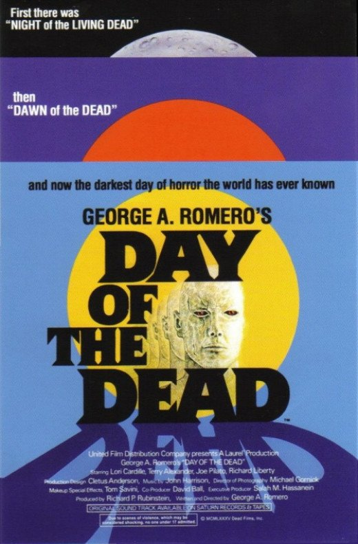 Day of the Dead (1985) poster
