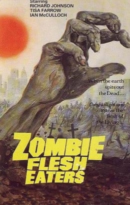 Zombie Flesh Eaters (1979) poster