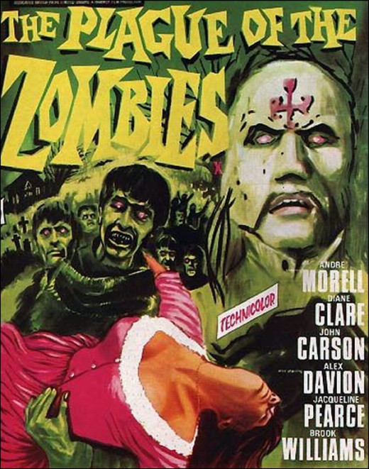Plague of the Zombies (1966) poster