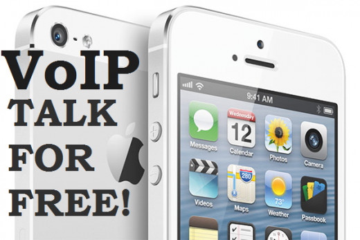 Use your iPhone and VoIP apps to talk with your friends for free!