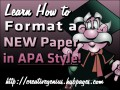 Essay Basics: Format a Paper in APA Style