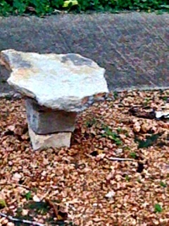The creative stone monument
