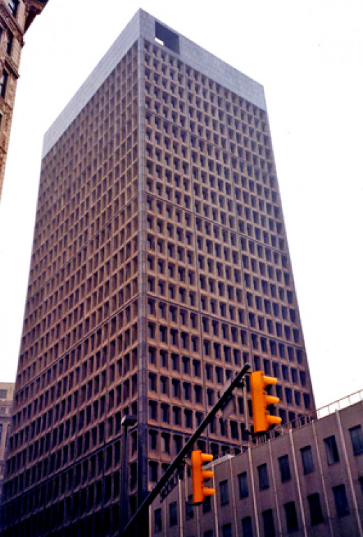 The former AmeriTrust bank tower