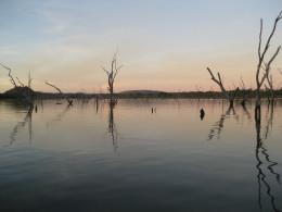 View from Kimberleyland Caravan Park