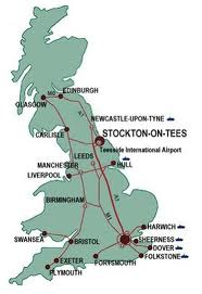 ...and in the general scheme of things, main road and rail links