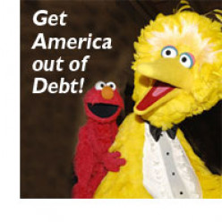 "Big Bird Says ""STOP!"""