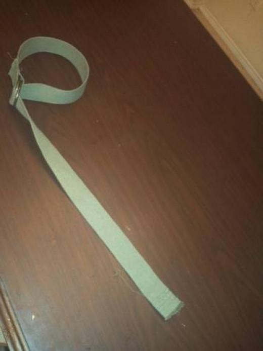 Belt for a Link Costume
