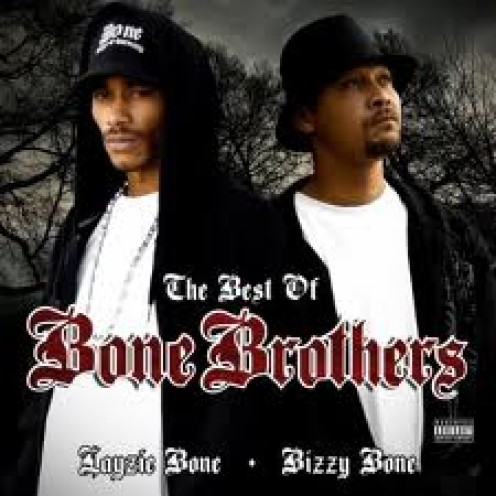 Bone Album Cover featuring Bone: Thugs in Harmony. One of their top songs is Crossroads and they were discovered by hip hop legend Easy E.