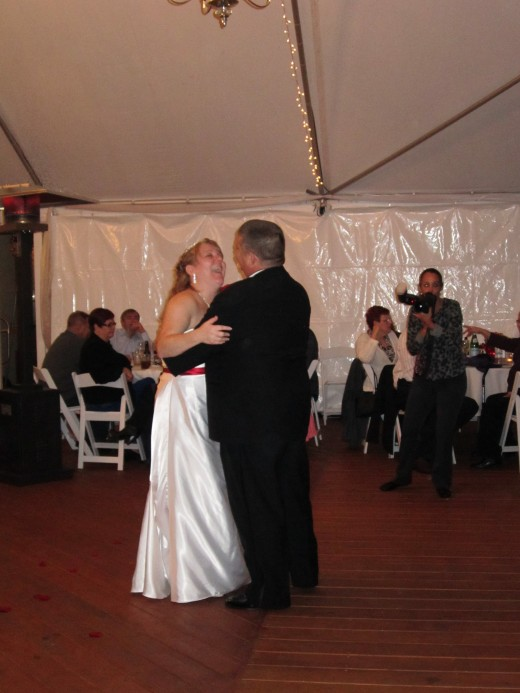 The Bride and Groom's First Dance as a Married Couple!
