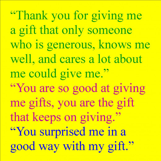 Thank You For Your Generous Gift Quotes: Thank You Messages For Gifts: How To Say Thanks For A Gift