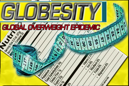 Globesity is an overweight epidemic!