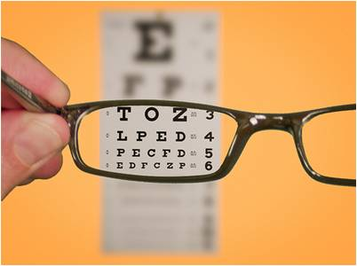 Eye Check and Eyeglasses Prescription Update