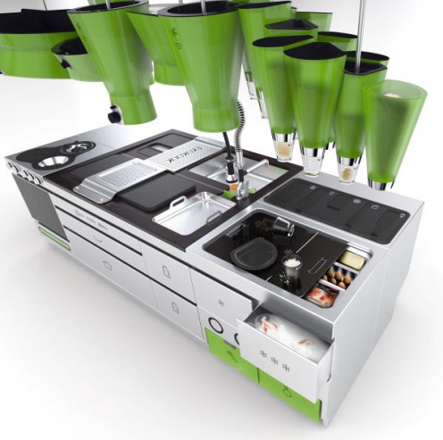 Green eco friendly kitchen tips