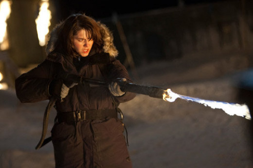Hello Ripley, is that you? No, it's our Kate (played by Mary Elizabeth Winstead) in The Thing