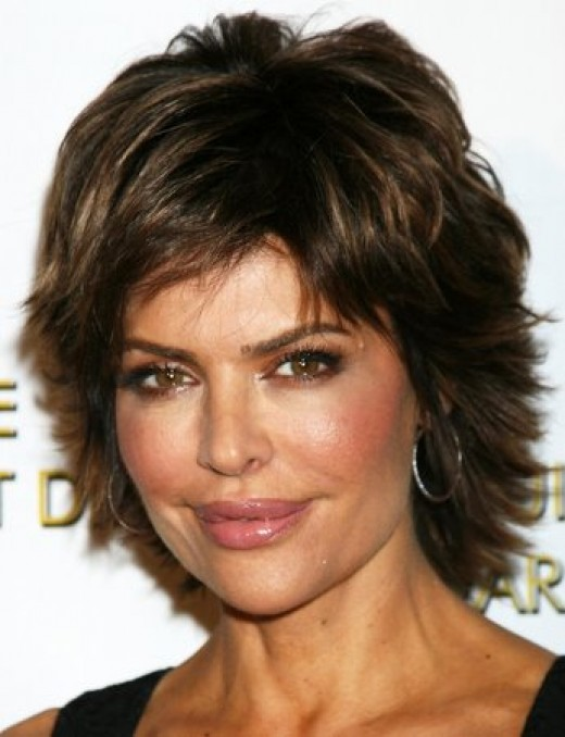 Check out the hair pictures of Lisa Rinna on this page and post your