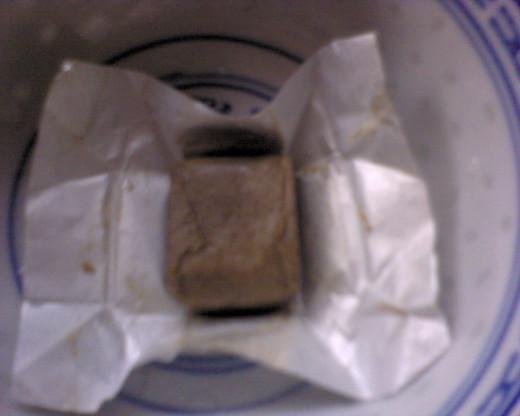 Ikan Bilis cube stock