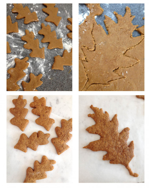 Whether you choose to create your own shaped cookies or use a cookie cutter, just be careful not to add too much flour to the dough as you roll it out.
