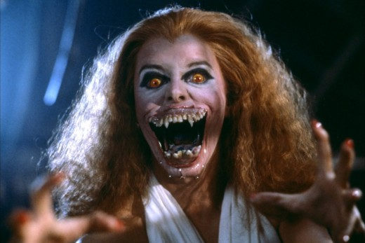 Vampire from the 1980s movies, somewhat comical as humanity evolves in their view of vampires and other monsters.