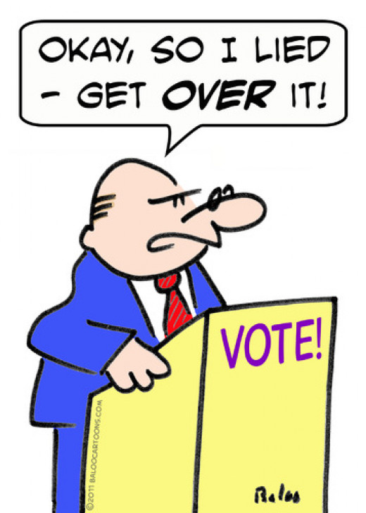 pic of cartoon politician