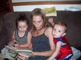 Reading to children comes back around to give meaning to members of all generations
